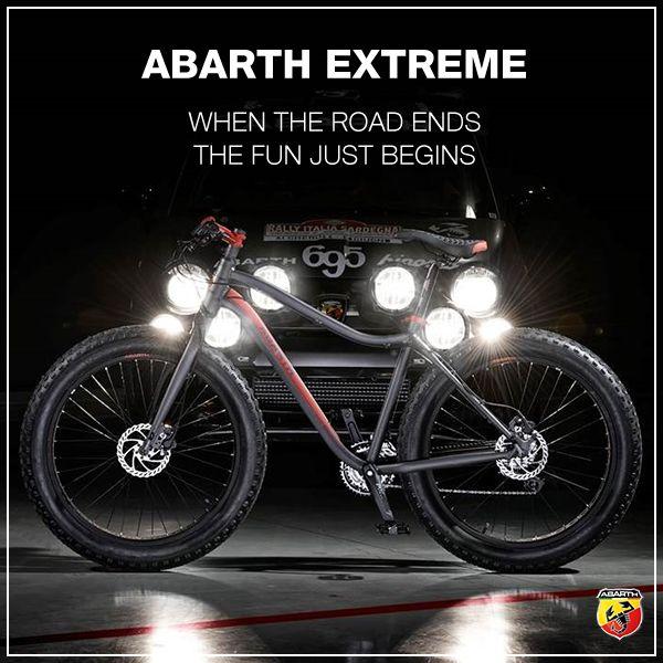 Skorpion na dwóch kółkach! Bo nie samą motoryzacją człowiek żyje! Sprawdź projekt ABARTH EXTREME na http://abarth.compagniaducale.com/