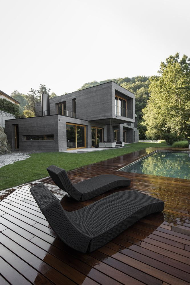 Gallery Of Villa Montagnola Attilio Panzeri Partners 27 With Images Architecture House And Home Magazine Contemporary Architecture