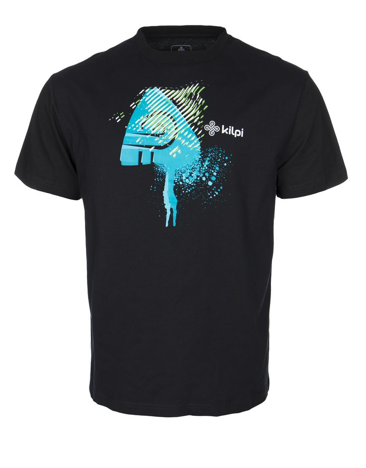 Men's T-shirt KILPI - ROSSY - black