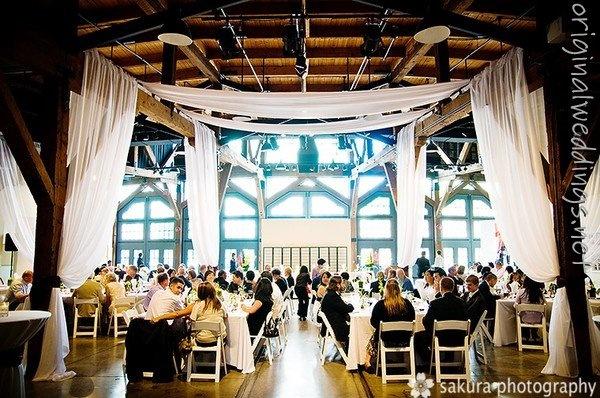 favorite wedding venue: Drapery Ideas, Yaletown Roundhous Wedding, Wedding Decor, Beams, Venues Originals, Wedding Venues, Beautiful Drapery, Venues Awesomew, Parties Wedding Planners