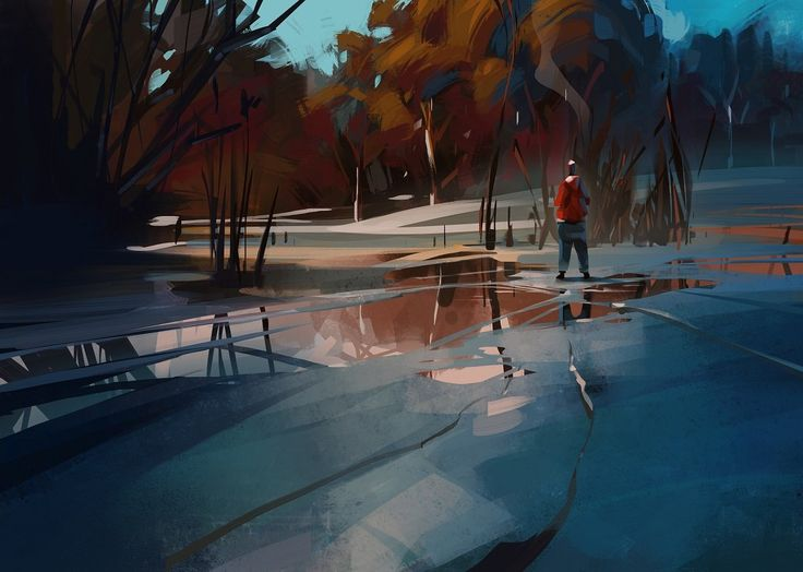 ArtStation - winter is coming, Michal Sawtyruk