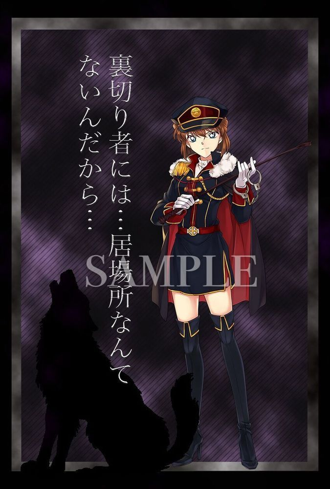 Detective Conan Sherry Miyano Shiho Haibara Ai Display