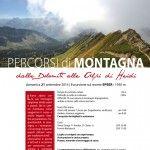 174.++PERCORSI+DI+MONTAGNA.+DALLE+DOLOMITI+ALLE+ALPI+DI+HEIDI