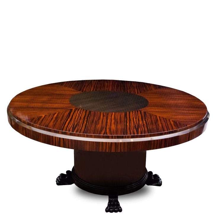 Lorin Marsh Dining Table - Lorin Marsh Tiger Wood Formal Dining Table