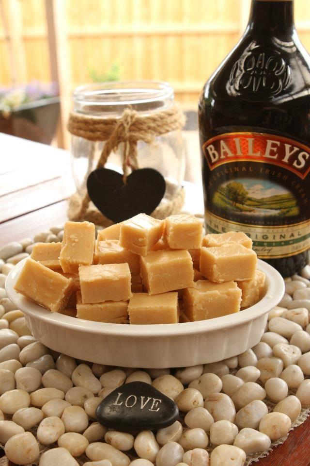 Baileys White Chocolate Fudge
