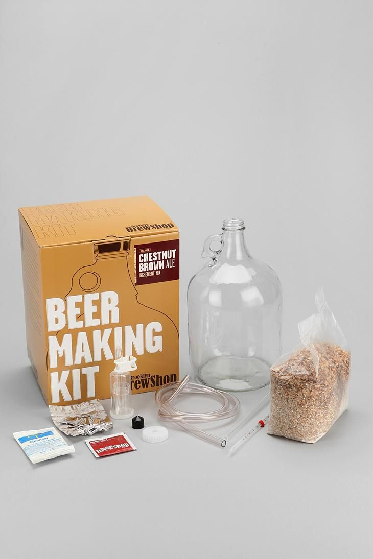 Brooklyn Brew Shop Beer Making Kit. I think it's a really creative gift! And how often do you come across a guy who doesn't drink beer?
