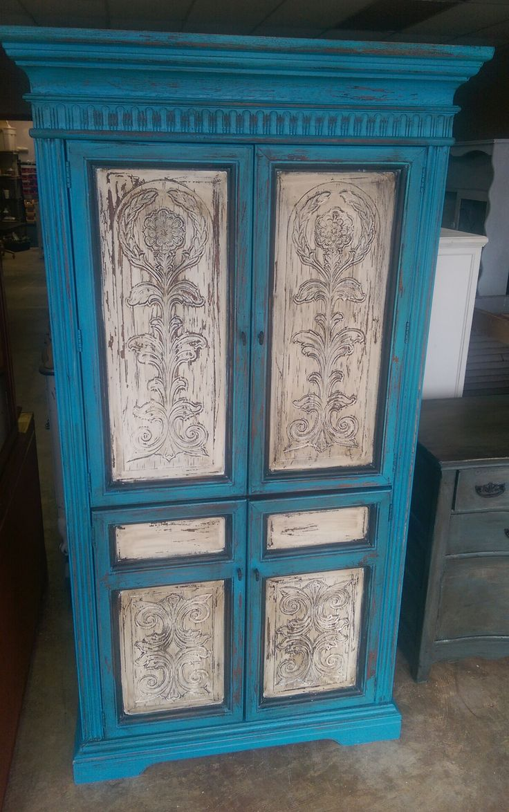 From Shabby Chic Texas · This Is A Drop Dead Gorgeous Wardrobe Armoire If I  Do Say So Myself. Picture