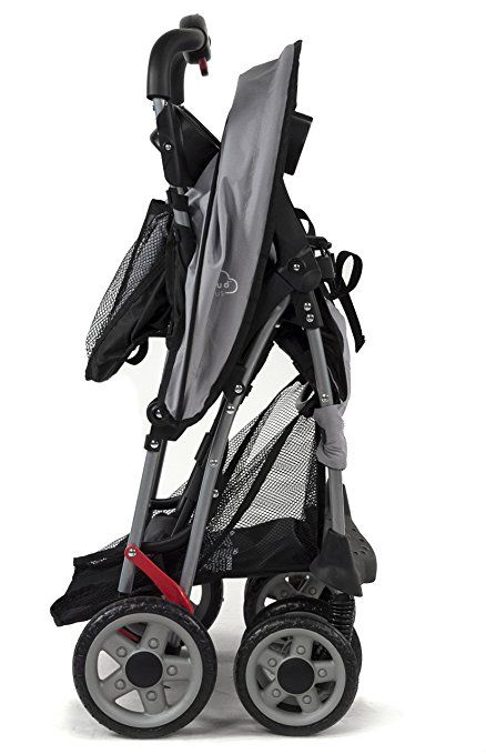 Amazon.com : Kolcraft Cloud Plus Lightweight Stroller with 5-Point Safety System and Multi-Positon Reclining Seat, Slate : http://amzn.to/2sPoj6g