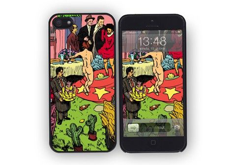 iPhone 4/4s/5 case Tyty Taxi / designed by Jakub Tytykalo / 31,- € / www.vajco.cz