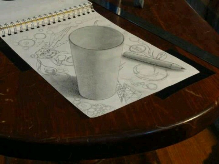 3d Pencil Drawing Drawing Pinterest Pencil Drawings