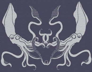 STENCIL for Walls - Giant SQUID - Large, Reusable Stencil for Walls - Durable DIY Home Decor by OliveLeafStencils on Etsy https://www.etsy.com/listing/64792394/stencil-for-walls-giant-squid-large