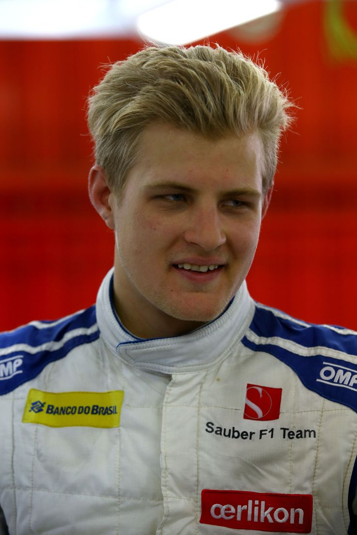 #F1 Pilot Marcus Ericsson of the #SauberF1Team during the 2015 Barcelona test