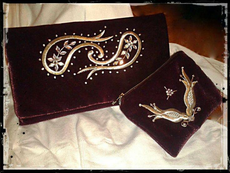 My first bag ♡ #goldenembroidery #maraşişi #simsırma #Sarajevo