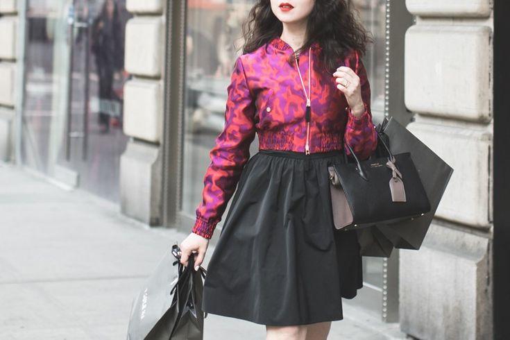 Shopping on Madison Avenue