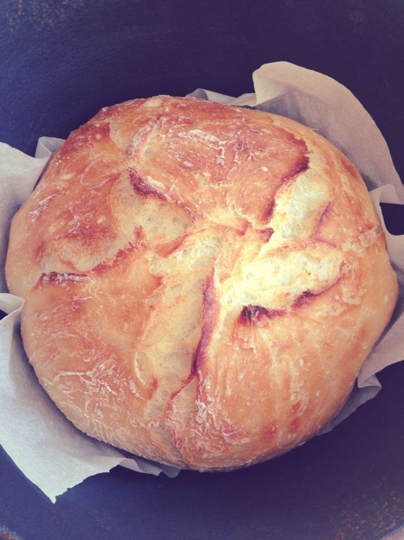 No knead Artisan Bread-trying out my Rockcrok by Pampered Chef! www.pamperedchef.biz/SCorrell