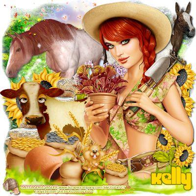 """MI RINCÓN GÓTICO: *¨*•.¸*¨*• CT for Kizzed By Kelz & Alehandra Vanhek •*¨*•.¸*, """"Farm Girl 1"""""""
