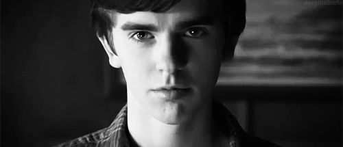 Freddie's since gone on to act in numerous movies and is the star of the TV series Bates Motel. | Freddie Highmore Has Gone And Neville Longbottomed On Us