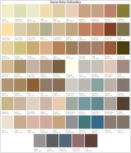 Parex Color Chart Painting The House Pinterest