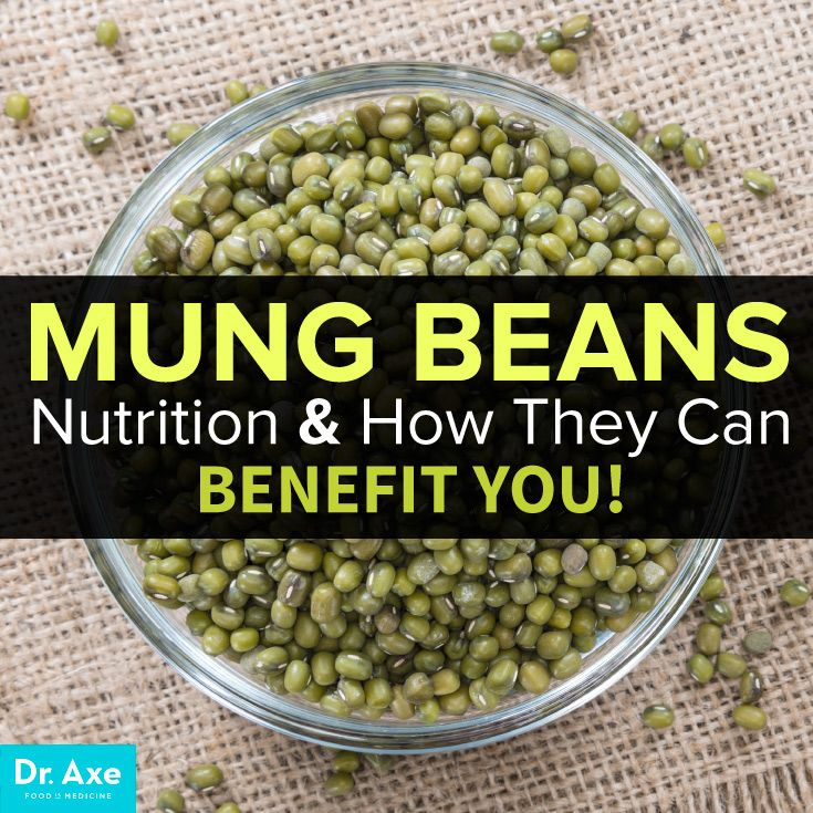 Mung beans nutrition and how it can benefit you Although in most parts of the world they're less popular than other bean varieties, like chickpeas or black beans, mung beans have some huge health benefits to offer!