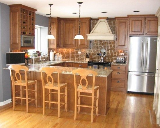 U Shaped Kitchen Layout With Peninsula best 20+ country u shaped kitchens ideas on pinterest
