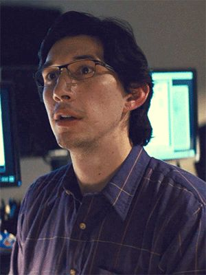 Look at hiiiiim. Doesn't matter. I know where they're going. Adam Driver as Paul Sevier in Midnight Special (2016)