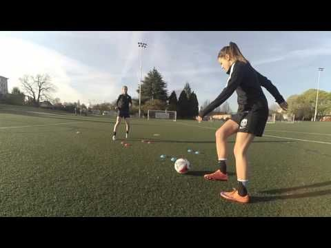 Beast Mode Soccer Drill of the Month: Footwork Like a Pro - YouTube