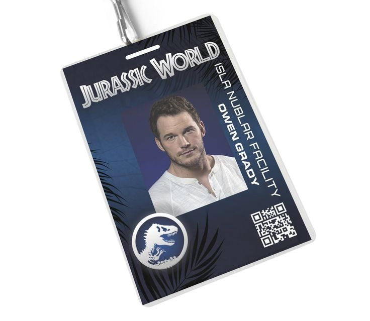 14 best Jurassic World Bday images on Pinterest Dinosaurs - id badge template