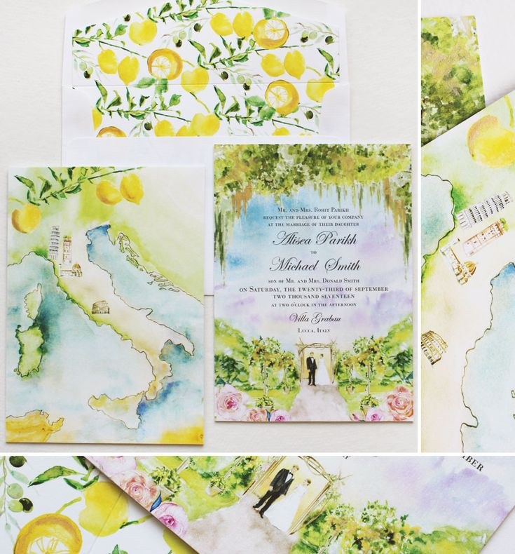 lemon-wedding-invitations