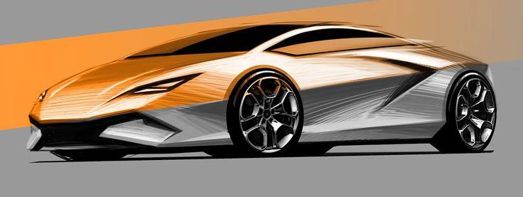 Lamborghini on Behance