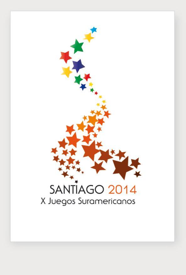 Logo semifinalista para Juegos Suramericanos 2014, Chile.