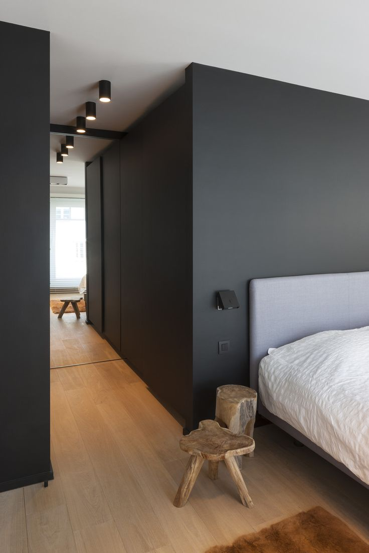 Zwart in slaapkamer