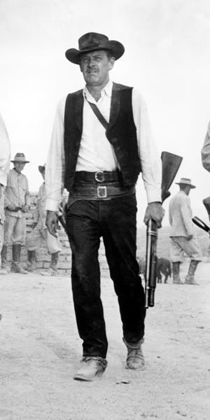 "William Holden in ""The Wild Bunch"" (1969). Director: Sam Peckinpah."