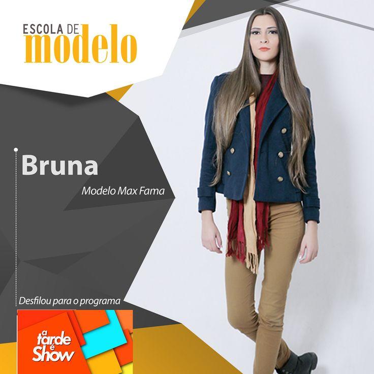 https://flic.kr/p/GQUoW8 | Rede Brasil - A tarde é show - Bruna | O programa A Tarde é Show da Rede Brasil aprovou mais algumas de nossas modelos para um desfile de moda. Parabéns meninas <3  #escolademodelo #modelo #passarela #teatro #desfile #maxfama #eventodemoda #catwalkbrasil #manequim #fashion #myagency #saopaulo #job #casting #marketing #vidademodelo #tendencia  #televisão #programa