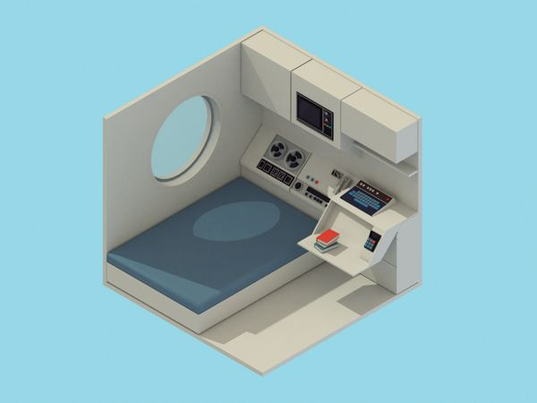 30 inspiring isometric renders in 30 days