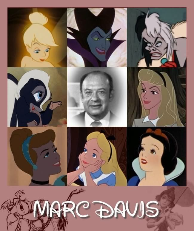 "Marc Davis - One Of Disney's ""9 Old Men."" Joined Disney Studios In 1935."