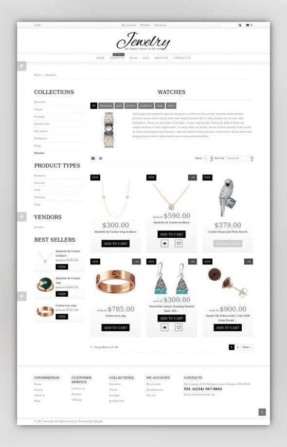 23++ Best free shopify themes for jewelry information