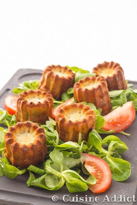 Cannelés au Roquefort // Plus de #recette au #roquefort sur le blog Les Recettes Roquefort Papillon : www.recetteroquefort.fr
