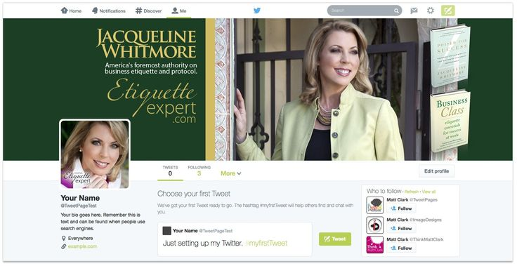 Jacqueline Whitmore Twitter Design - by TweetPages.com #TweetPages