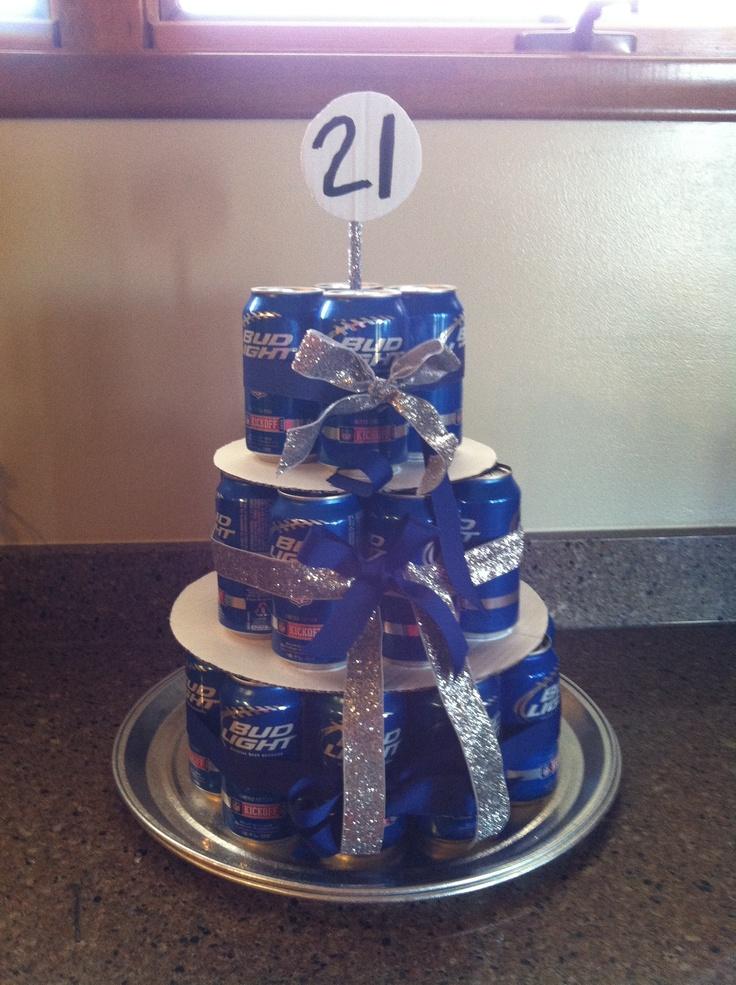 Happy birthday craft beer cake - photo#13