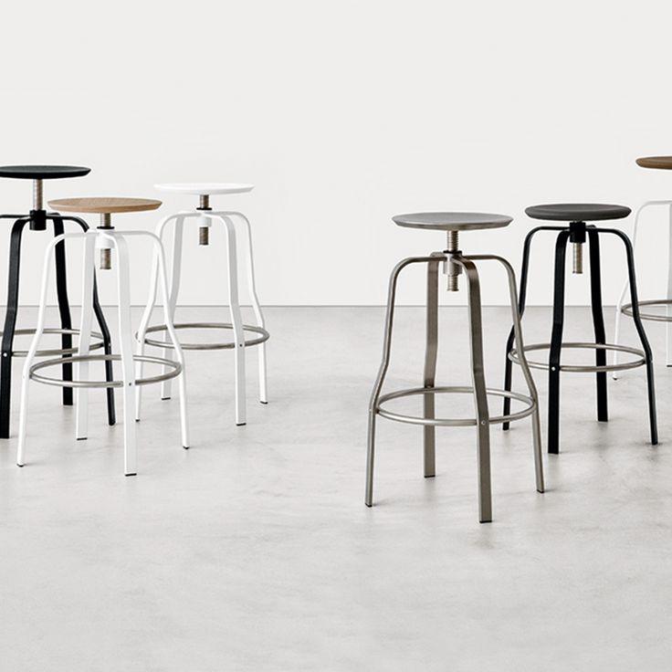 Giro indoor metal barstool #interiordesign #contractfurniture #metal #barstool  #retail #b2bfurniture #indoorfurniture