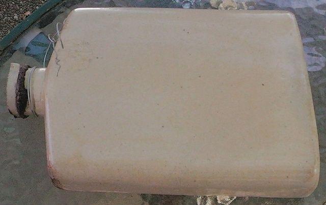 Glen Afton flash shape hot water bottle with screw cap
