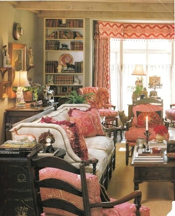 French Country Decorating A Blog About Interior Design Books Art Gardens Animal Country Living Room Design French Country Living Room Living Room Decor Country