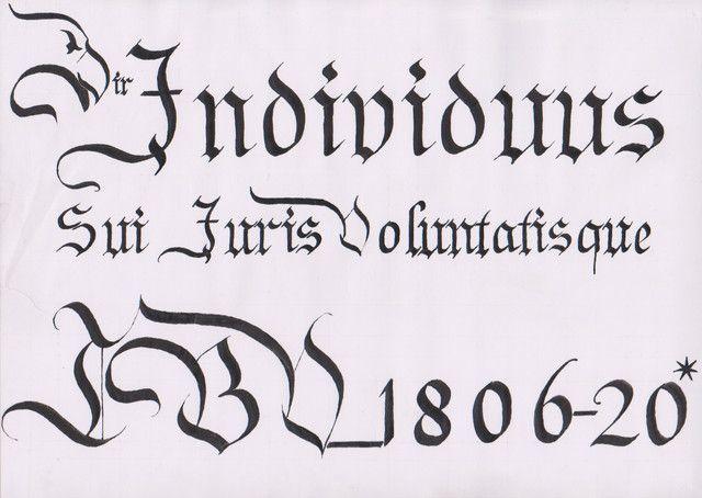 Individuus Sui Iuris Volu by LBV1806-20