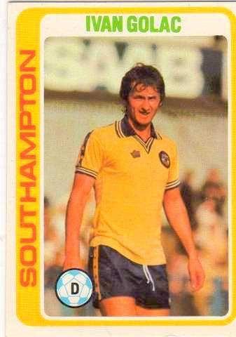 #IvanGolac #Southampton (Front) 1979