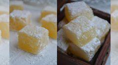 Лимонный рахат-лукум