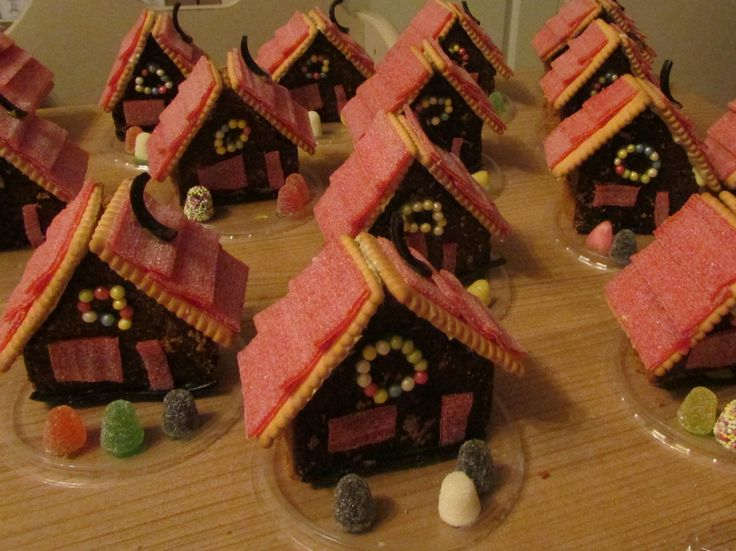 peperkoek huisjes