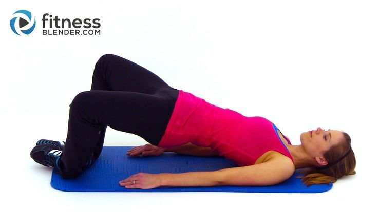 Glute, Inner Thigh & Outer Thigh Workout - Butt Lifting Exercises + Inner and Outer Thigh Exercises (37 min.)