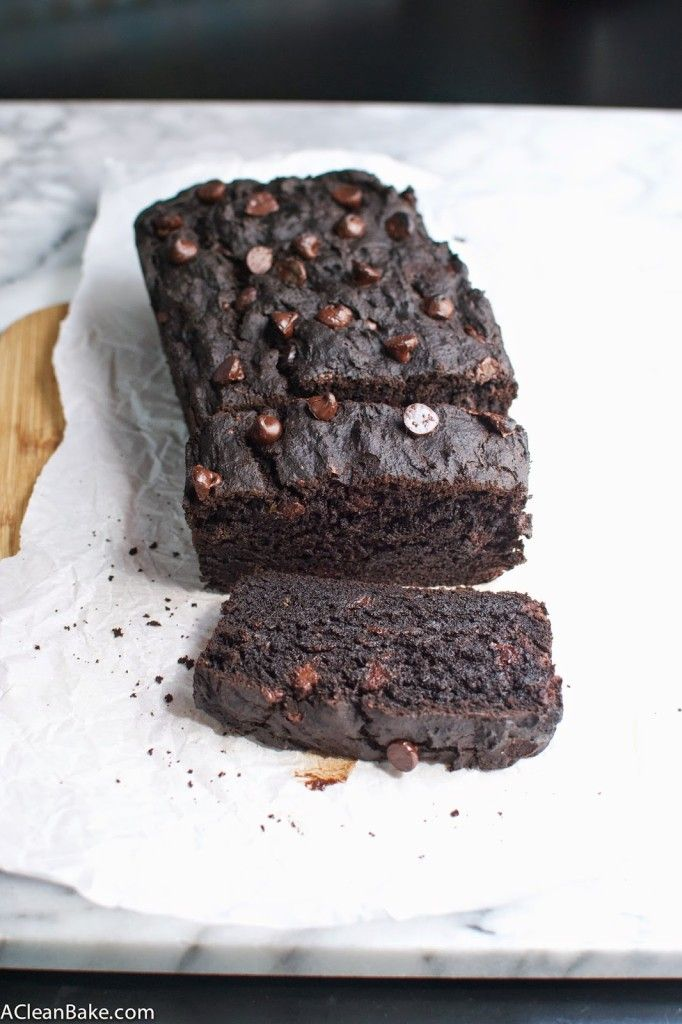 Gluten Free Double Chocolate Zucchini Bread