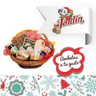 Anchetas personalizadas para que compartas con todo el delicioso sabor de la navidad.