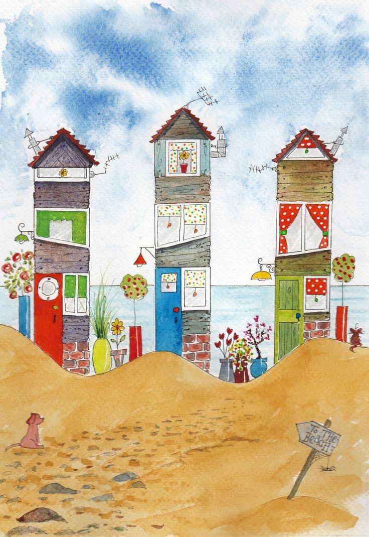 http://www.ebay.co.uk/itm/ORiGiNaL-watercolour-ltd-ed-print-BeACH-HoUSES-seascape-beach-hut-dog-cat-/201388342515?pt=LH_DefaultDomain_3